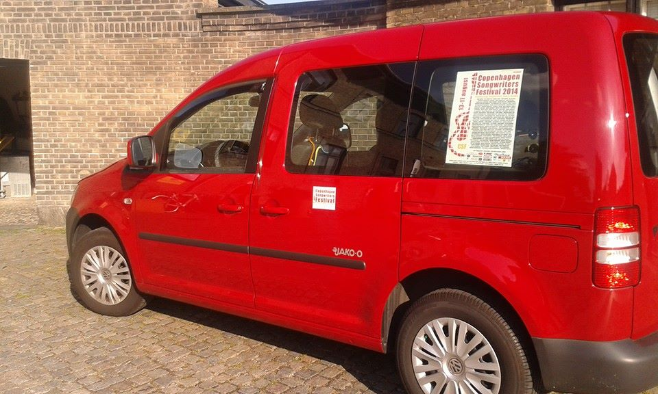 The Red Festival Van!